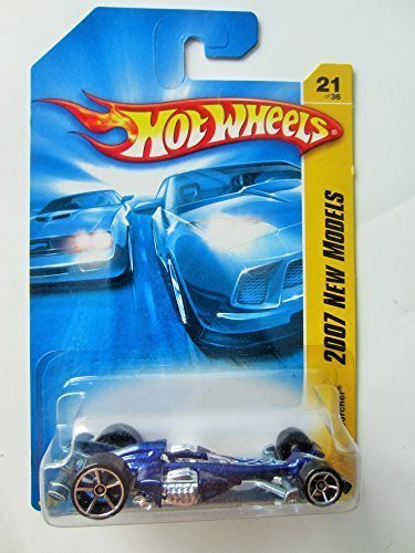 Mattel Hot Wheels 2007 New Models Silver Nitro Scorcher 21 of 36 - 1