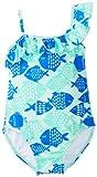 De Carter Little Girls 'Pescado Imprimir 1Pieza Swimwuit, Azul, 6x Color: Azul Tamaño: 6x (Baby/Babe/Infant-Little Ones)