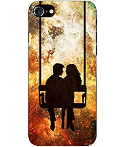 Clarks Printed Back Cover/Case For Apple Iphone 7