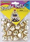 Fiber Craft 20-Pack Jingle Bells, 25m…