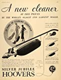 1932 Ad Silver Jubilee Hoover Cleaners Home Appliances - Original Print Ad