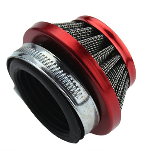 Dune Buggy Air Cleaner : Goofit mm red air filter for atv dirt bike go kart pit