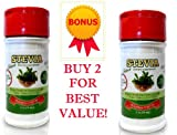 Stevia Extract - 100% Pure Stevia Powder No Fillers -2 Pack Best Value! Stevia Rebaudiana Premium Part of Stevia Plant Water Extracted from the Sweet Leaf - Best Tasting Stevia Guaranteed!Limited Time Pre-order sale