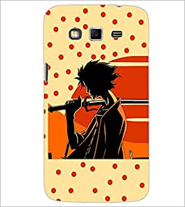 Printdhaba Sword Girl D-5087 Back Case Cover For Samsung Galaxy Grand 2