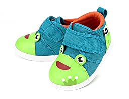 Squeaky Shoes for Toddlers w/ Adjustable Squeaker, By ikiki (7, Prince Kairu)