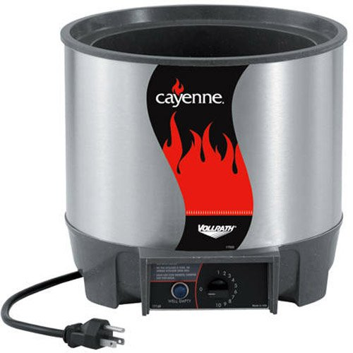 Vollrath (72017) Cayenne 7 qt. Round Heat 'N Serve Food Warmer