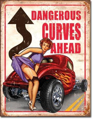 hot-rod-dangerous-curves-targa-placca-metallo-piatto-nuovo-31x40cm-vs2246