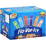 Fla-vor-ice Freeze Pops, Assorted Flavors (1.5oz 200 Pops)