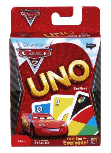 Imagen de Disney / Pixar Cars 2 la película UNO Card Game