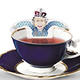 RoyalTea Royalty Tea Bags Gift Set with the Royal Wedding Family Figures, Prince William, Charles, Queen