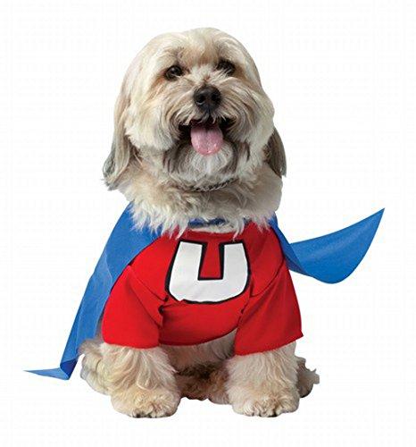 [Underdog Doggy Pet Costume (Large)] (Underdog Halloween Costume)