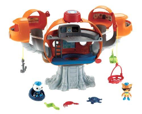 Mattel X8602 - Fisher-Price Die Oktonauten Oktopod Spielset mit viel Zubehör