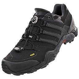 Adidas AF5988 Mens Terrex Fast R Shoes, Black/Dark Grey/Chalk White-10.5