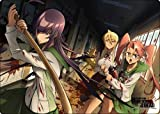 A3クリアデスクマット 学園黙示録 HIGHSCHOOL OF THE DEAD 学校