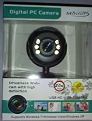 Minter Digital Pc Usb HD Web Camera -20 Mega Pixel (Software Enhanced)