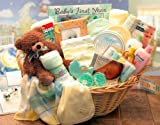 Welcome Home Precious Baby Girl Gift Basket - Baby Shower Gift Idea for Newborn