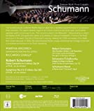 Image de Schumann: Symphony No. 4 - Piano Concerto - featuring Martha Argerich and Riccardo Chailly [Blu-ray]