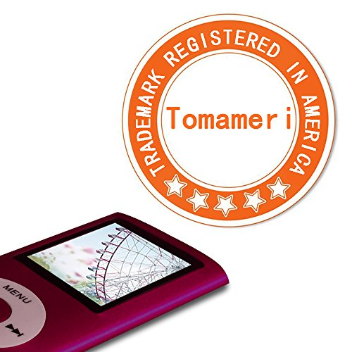 Tomameri-SPN-01-32-GB-Micro-SD-Card-Portable-MP4-Player-MP3-Player-Video-Player-with-Mini-USB-Port-Photo-Viewer-E-Book-Reader-Voice-Recorder-Including-USB-charger-and-earphones-in-Red