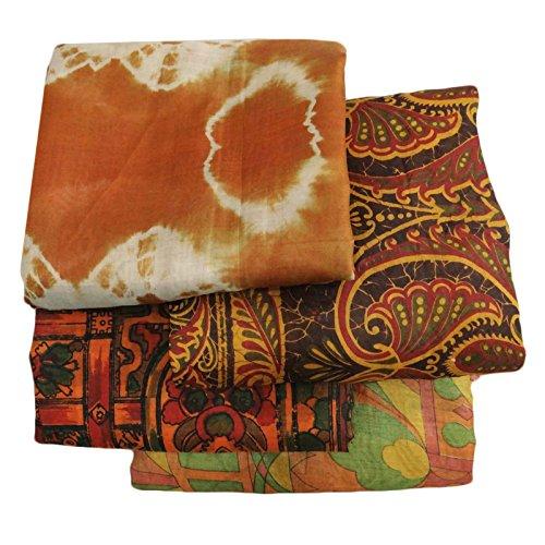 Weinlese materialmix sari sari indische multicolor for Braun mischen