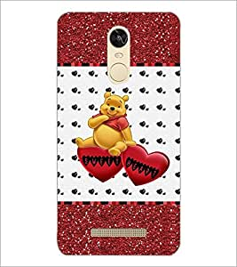 PrintDhaba Sweet Heart D-1286 Back Case Cover for XIAOMI REDMI NOTE 3 (Multi-Coloured)
