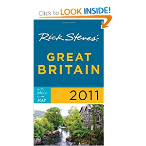 Rick Steves Great Britain 2011 with map