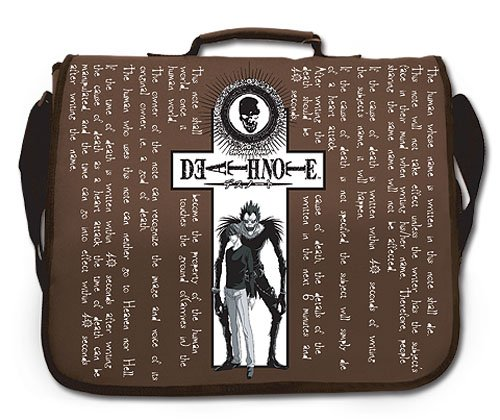 Death Note Light Ryuk Messenger Bag GE-5423