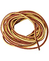 Timberland Cord 3/4mm Strong Tan Chamois Striped Shoe Boot hiking Laces