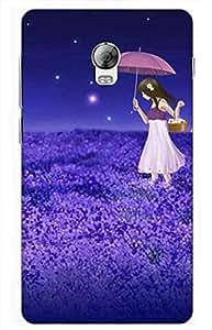 love Designer Printed Back Case Cover for Lenovo Vibe P1