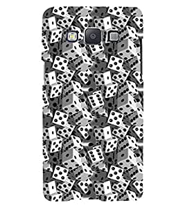 PRINTSWAG DICE PATTERN Designer Back Cover Case for SAMSUNG GALAXY A5