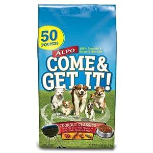 Purina Alpo Come & Get It! Cookout Classics Dog Food - 50 lbs.
