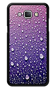 """Humor Gang Water Droplets - Purple Printed Designer Mobile Back Cover For """"Samsung Galaxy A8"""" (2D, Glossy, Premium Quality, Protective Snap On Slim Hard Phone Case, Multi Color)"""