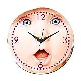 MeSleep Baby Wall Clock With Glass Top
