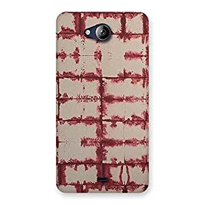 Cute Brick Wall Vintage Back Case Cover for Canvas Play Q355