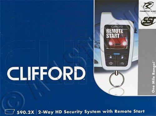 Clifford 590.2x 2-way Security w/ Remote Start