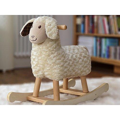 Little Bird Told Me Ride On Lambert Rocking Sheep - 1
