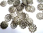 Pack of 500 Antique Bronze 8mm Flower...