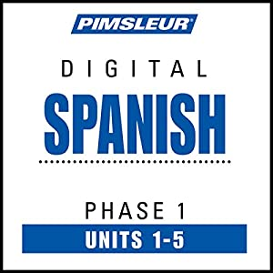 Spanish Phase 1, Unit 01-05 Audiobook