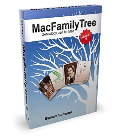 Synium MacFamilyTree 6 [Old Version]