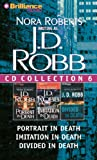 J. D. Robb J.D. Robb CD Collection 6: Portrait in Death, Imitation in Death, Divided in Death