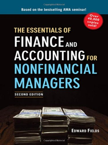 The Essentials of Finance and Accounting for Nonfinancial Managers image