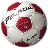 molten(モルテン) ペレーダ3000 [ Pelada3000 ] エントリーモデル 5号球 白+赤 F5P3000-WR