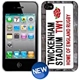 ENGLAND RUGBY Twickenham Road Sign iPhone 4 4s Phone Cover Case