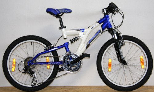 spyder 20 zoll 50 8 cm alu kinderfahrrad montainbike fully. Black Bedroom Furniture Sets. Home Design Ideas