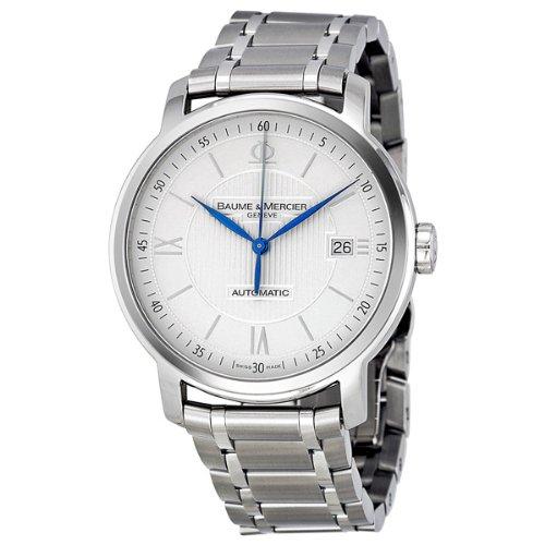Baume & Mercier Men's A8837 Classima Silver Guilloche Dial Watch
