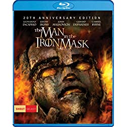 The Man In The Iron Mask [Blu-ray]