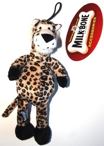 Milk-Bone, Little Zoo Chew for Dogs, Plush Leopard (1 Toy)