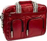 Krusell Breeze Leder Notebooktasche bis 39,6 cm (15,6 Zoll), rot