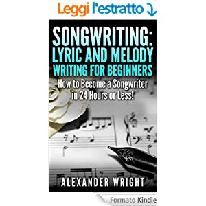 how to write lyrics for a song