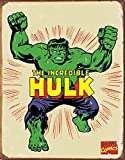 Hulk Hero Marvell Comics Retro Vintage Decor Tin Sign12.5 in Wx16 in H