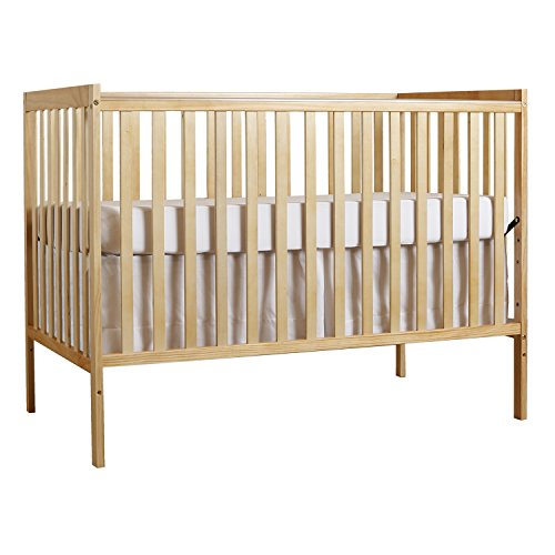 Dream On Me Synergy 5 in 1 Convertible Crib, Natural (Convertible Crib Natural compare prices)